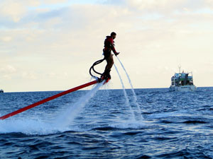 Flyboard Ereignis