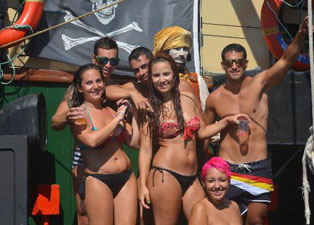 Pirate Boat Party